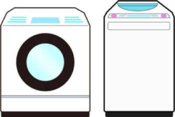 ドラム洗濯機と全自動洗濯機