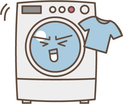 キャラクター 洗濯機