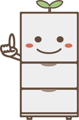キャラクター 冷蔵庫